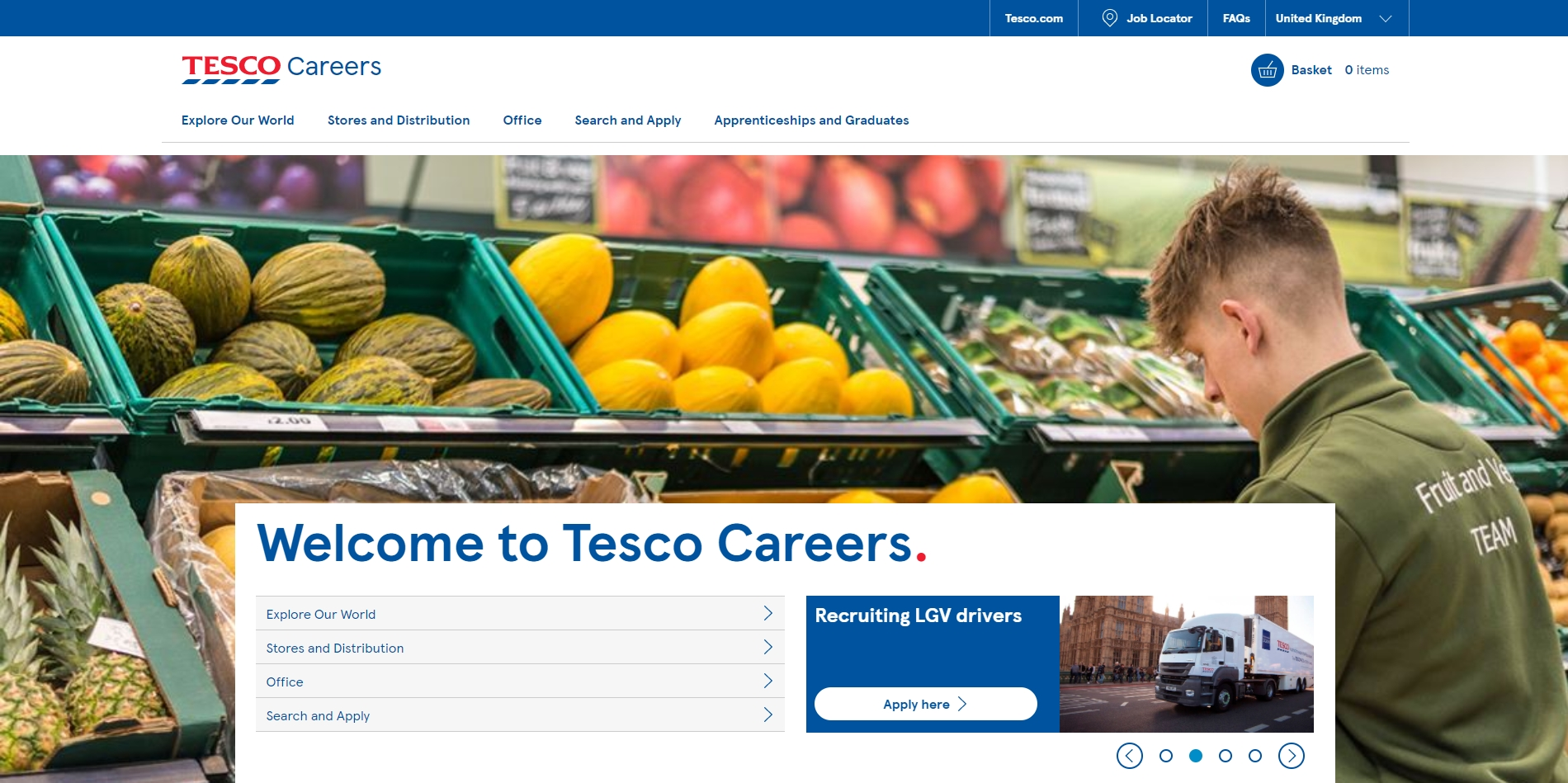 Search and Apply | Tesco Careers